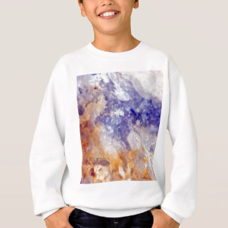 Rusty Blue Quartz Crystal Sweatshirt
