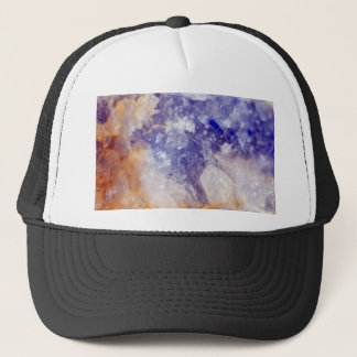 Rusty Blue Quartz Crystal Trucker Hat