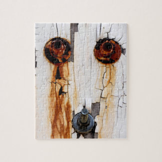 Rusty Bolts Nuts Peeling Paint Jigsaw Puzzle