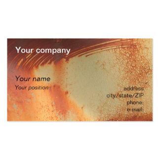 """Rusty"" business card"