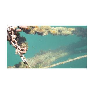 Rusty Chains Canvas Print