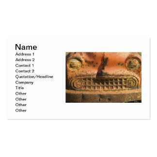Rusty Comet Pack Of Standard Business Cards