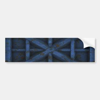 Rusty Container - Blue - Bumper Sticker