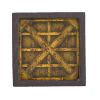 Rusty Container - Yellow - Premium Jewelry Boxes