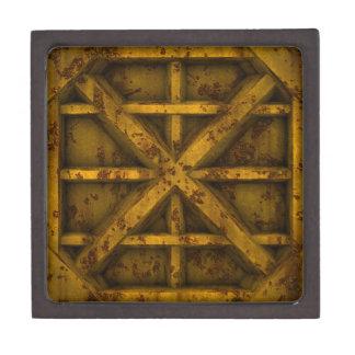 Rusty Container - Yellow - Premium Keepsake Box