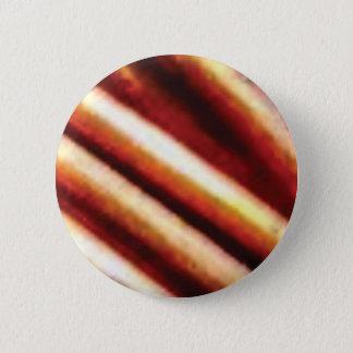rusty copper tubes 6 cm round badge