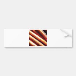 rusty copper tubes bumper sticker