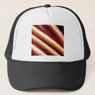 rusty copper tubes trucker hat