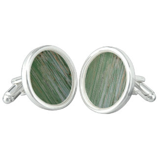 Rusty corrugated iron cuff links