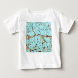Rusty Cracked Turquoise Baby T-Shirt