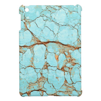 Rusty Cracked Turquoise iPad Mini Cover