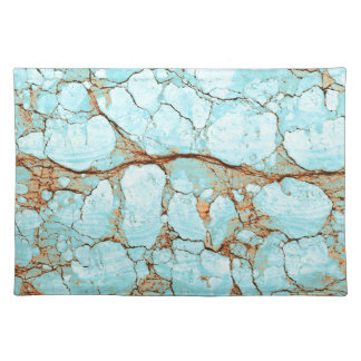 Rusty Cracked Turquoise Placemat