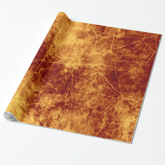 Rusty Cracks Wrapping Paper