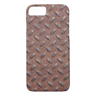 rusty diamond plate iPhone 8/7 case