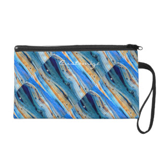 rusty driftwood blue Thunder_Cove Wristlet Clutches