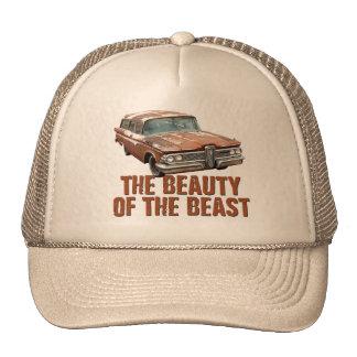 Rusty Edsel station wagon Cap