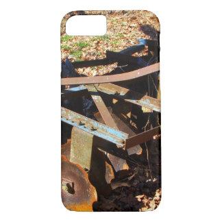 Rusty Farm Field Equipment iPhone 7 Case