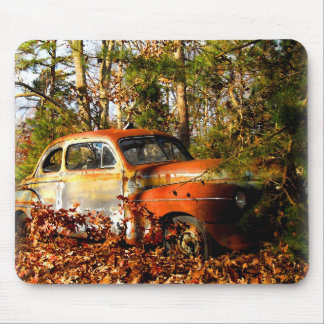 Rusty Forties 2-Door Coupe Mouse Pad