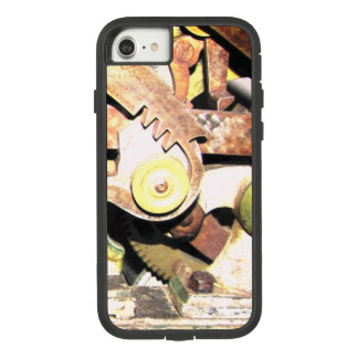 rusty gears steampunk design on iphone cases