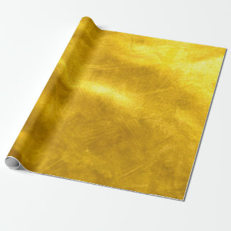 Rusty Gold Glitter - Shiny Luxury Golden Texture Wrapping Paper