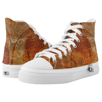 Rusty Gold High Tops