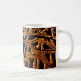 Rusty Grate Coffee Mugs