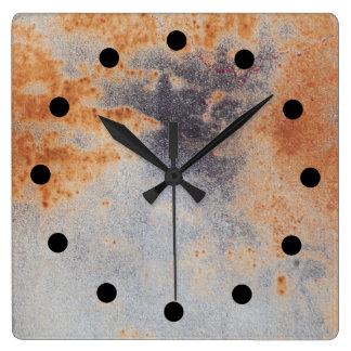 Rusty grunge Clock