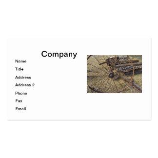 Rusty Hay Raker Pack Of Standard Business Cards