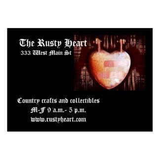 Rusty heart/Still beating Business Card