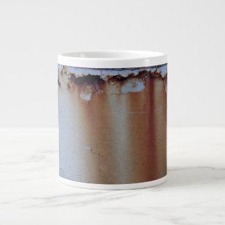 Rusty Jumbo Coffee Mug with Rough Edge