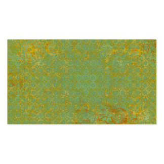 Rusty LIme Green Pattern Background Business Card Templates