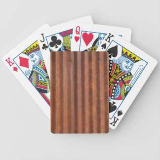 RUSTY METAL BICYCLE PLAYING CARDS