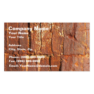 Rusty Metal Effect (Not Metallic Product) Pack Of Standard Business Cards