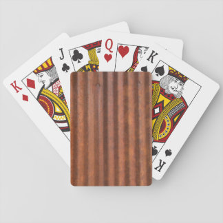 RUSTY METAL PLAYING CARDS