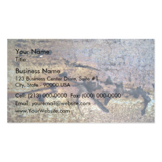 Rusty Metal Texture Pack Of Standard Business Cards
