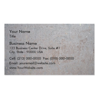 Rusty Metal Texture Business Card Template