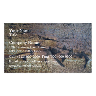 Rusty Metal Texture Business Card