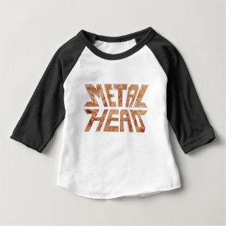Rusty MetalHead Baby T-Shirt