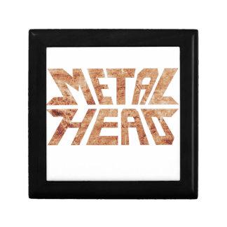 Rusty MetalHead Gift Box