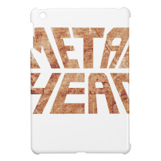 Rusty MetalHead iPad Mini Cover