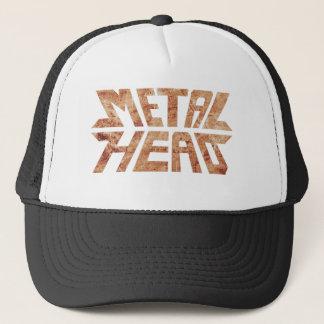Rusty MetalHead Trucker Hat