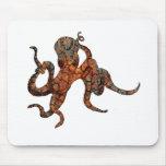 Rusty Octopus Mousepad
