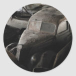 rusty old cars sticker