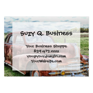 Rusty Old Classic Car Vintage Automobile Pack Of Chubby Business Cards