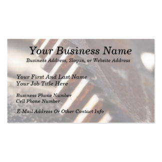 Rusty Old Cog Wheel Pack Of Standard Business Cards