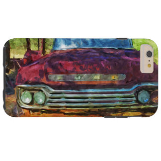 Rusty Old Vintage Truck Abstract Tough iPhone 6 Plus Case