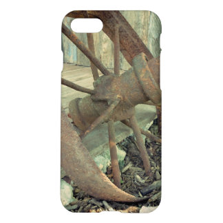 Rusty Old Wheel iPhone 7 Case