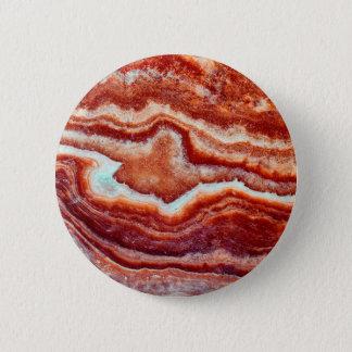 Rusty Quartz 6 Cm Round Badge
