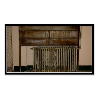 Rusty Radiator (Room Heater) at Alcatraz Prison Pack Of Standard Business Cards