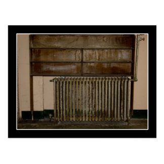 Rusty Radiator (Room Heater) at Alcatraz Prison Postcard